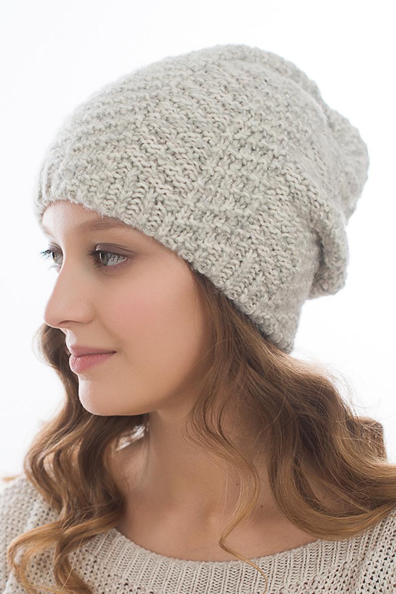 Шапка женская Snezhna, цвет: светло-бежевый. SWH7093/2. Размер 56/58SWH7093/2Стильная шапка Snezhna добавит уникальность вашему образу. Данная модель мягкая и комфортная на ощупь. Модель на флисе.Уважаемые клиенты!Размер, доступный для заказа, является обхватом головы.