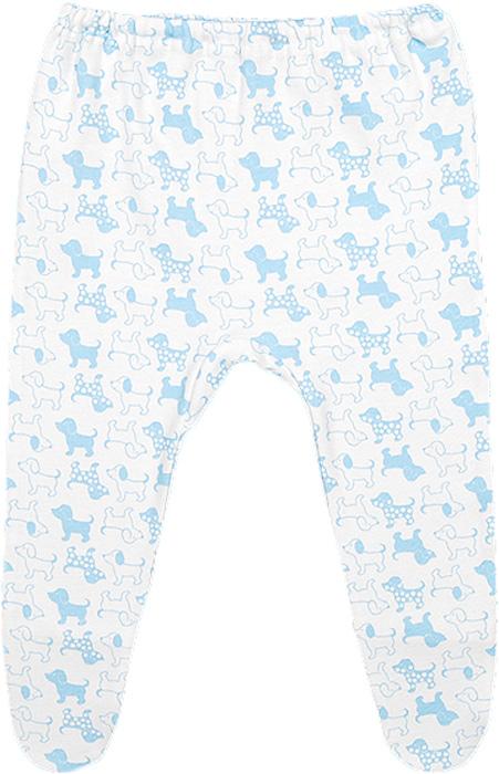 Ползунки для мальчика Чудесные одежки, цвет: белый, голубой. 5286. Размер 745286Ползунки Чудесные одежки выполнены из натурального хлопка, благодаря чему великолепно пропускают воздух и обеспечивают комфорт и удобство, не раздражая нежную детскую кожу. Модель с закрытыми ножками благодаря мягкому эластичному поясу не сдавливают животик младенца и не сползают, идеально подходят для ношения с подгузником.