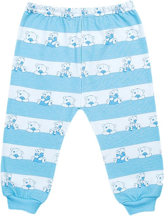 Ползунки для мальчика Чудесные одежки, цвет: белый, голубой. 5385. Размер 565385Удобные ползунки Чудесные одежки послужат идеальным дополнением к гардеробу ребенка. Модель, изготовленная из интерлока - натурального хлопка, необычайно мягкая и легкая, не раздражает нежную кожу ребенка и хорошо вентилируется, а эластичные швы приятны телу малыша и не препятствуют его движениям. Модель с открытыми ножками благодаря мягкому эластичному поясу не сдавливают животик ребенка и не сползают, идеально подходят для ношения с подгузником. Низ брючин дополнен широкой эластичной резинкой. Такие ползунки полностью соответствуют особенностям жизни ребенка в ранний период, не стесняя и не ограничивая его в движениях.