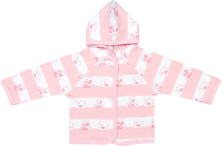 Распашонка для девочки Чудесные одежки, цвет: белый, розовый. 5182. Размер 865182Удобная распашонка Чудесные одежки послужит идеальным дополнением к гардеробу вашего малыша, обеспечивая ему наибольший комфорт. Изготовленная из интерлока - натурального хлопка, она необычайно мягкая и легкая, не раздражает нежную кожу ребенка и хорошо вентилируется, а эластичные швы приятны телу ребенка и не препятствуют его движениям. Модель с капюшоном и длинными рукавами-реглан застегивается спереди на удобные застежки-кнопки, что помогает с легкостью переодеть ребенка. Распашонка полностью соответствует особенностям жизни ребенка в ранний период, не стесняя и не ограничивая его в движениях.