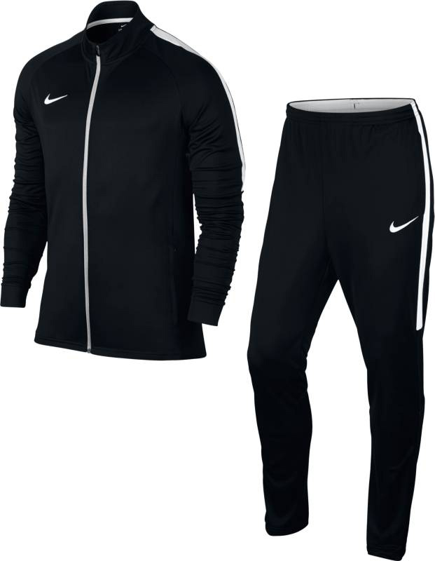 Спортивный костюм мужской Nike Dry Football Tracksuit, цвет: черный. 844327-010. Размер M (46/48) свитшот мужской nike nike цвет голубой