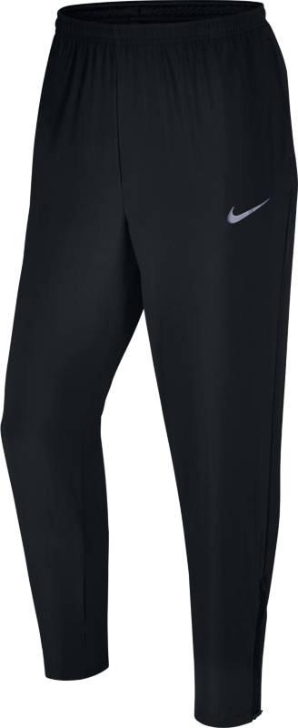 Брюки спортивные мужские Nike Nk Flx Run Pant Woven, цвет: черный. 856894-010. Размер XL (52/54)856894-010Mens Nike Flex Running Pants КОМФОРТ ДЛЯ РАЗМИНКИ. Мужские беговые брюки Nike Flex из эластичной ткани обеспечивают идеальную посадку для разминки. Светоотражающие детали, регулируемый пояс и молнии в нижней кромке штанин, чтобы удобно снимать и надевать модель. Эластичная ткань Nike Flex не сковывает движений.