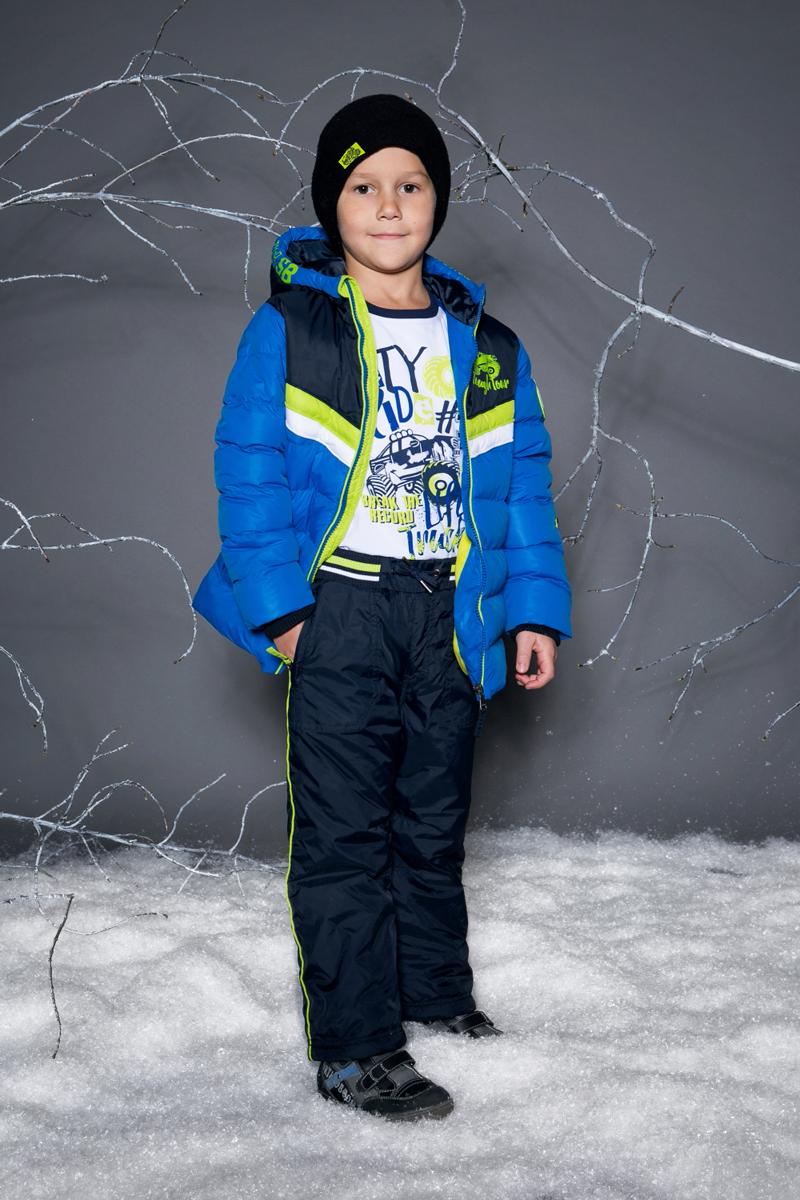 Брюки утепленные для мальчика Sweet Berry, цвет: темно-синий. 733091. Размер 104733091Утепленные текстильные брюки для мальчика от Sweet Berry с эластичным поясом и шнуром для регулирования объема по талии. Флисовая подкладка. Декорированы контрастной отделкой. Два прорезных кармана на молнии. Прямой крой, средняя посадка. Низ брючин регулируется эластичной утяжкой.