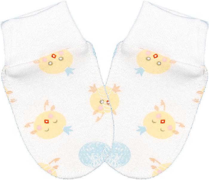 Рукавички для мальчика Чудесные одежки, цвет: белый, желтый, голубой. 5918. Размер 625918Рукавички для новорожденного Чудесные одежки обеспечат вашему ребенку комфорт во время сна и бодрствования, предохраняя нежную кожу от царапин. Изделие изготовлено из натурального хлопка, отлично пропускает воздух, обеспечивая комфорт. Швы выполнены наружу, что будет для малыша особенно удобным. Рукавички имеют широкие эластичные манжеты, которые не пережимают ручку ребенка. Мягкие рукавички сделают сон вашего ребенка спокойным и безопасным.