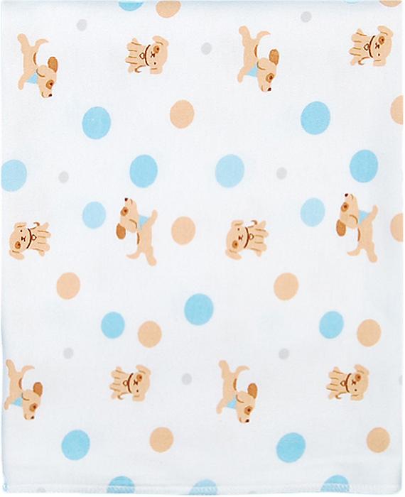 Чудесные одежки Пеленка текстильная Собачка цвет белый бежевый голубой 120 х 90 см чудесные одежки пеленка текстильная собачка цвет белый бежевый голубой 120 х 90 см