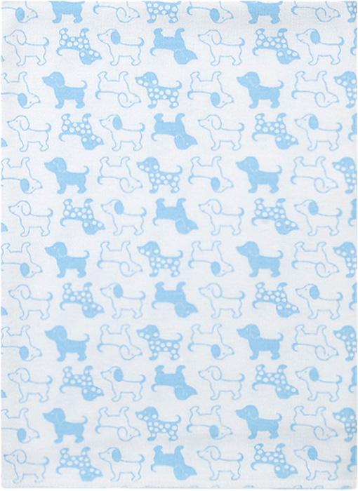 Чудесные одежки Пеленка текстильная Собачка цвет белый голубой 120 х 90 см чудесные одежки пеленка текстильная собачка цвет белый бежевый голубой 120 х 90 см
