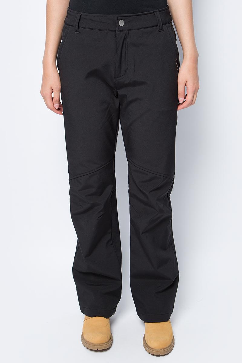 Брюки утепленные женские Luhta, цвет: черный. 838763382LV_990. Размер 36 (44) брюки утепленные luhta luhta lu692egxnj34