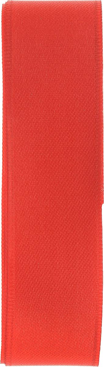 Лента атласная Brunnen, цвет: красный, ширина 2,5 см, длина 3 м2583412720_красныйЛента Brunnen изготовлена из атласа. Область применения атласной ленты весьма широка. Лента предназначена для оформления цветочных букетов, подарочных коробок, пакетов. Кроме того, она с успехом применяется для художественного оформления витрин, праздничного оформления помещений, изготовления искусственных цветов. Ее также можно использовать для творчества в различных техниках, таких как скрапбукинг, оформление аппликаций, для украшения фотоальбомов, подарков, конвертов, фоторамок, открыток и т.д.Ширина ленты: 2,5 см.Длина ленты: 3 м.