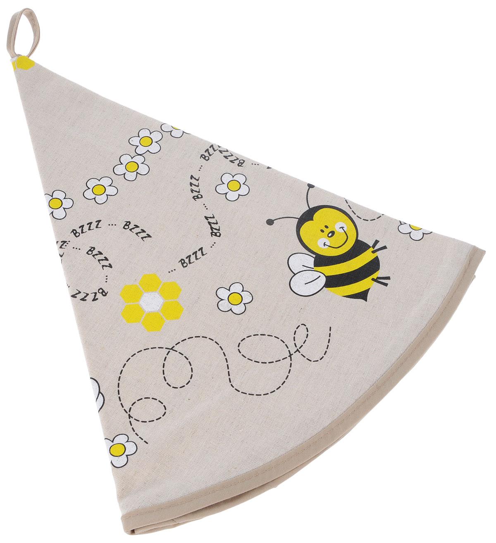 Полотенце кухонное LarangE От Шефа. Пчелы, круглое, диаметр 70 см627-004_пчелыКухонное полотенце LarangE От Шефа. Пчелы, изготовленное из льна и хлопка, оформлено оригинальным рисунком. Полотенце идеально впитывает влагу исохраняет свою мягкость даже после многих стирок. Полотенце LarangE От Шефа. Пчелы - отличный вариант для практичной и современной хозяйки.