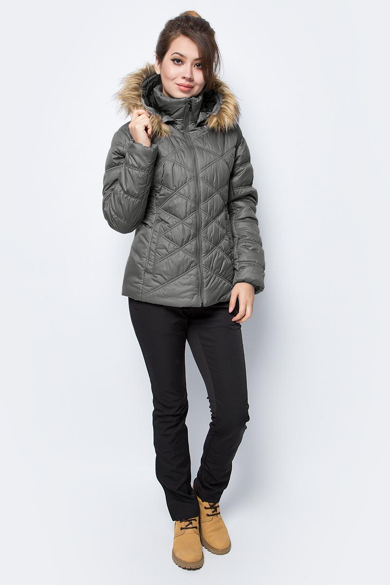 Куртка жен Luhta, цвет: оливковый. 838460356L6V_250. Размер 38 (46)838460356L6V_250