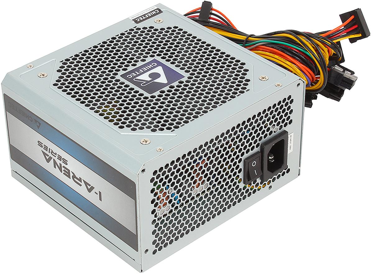 Chieftec GPC-450S блок питания для компьютера4710713234130Блок питания Chieftec 450W OEM GPC-450S [iARENA] ATX v.2.3, КПД > 80%, A.PFC, 1x PCI-E (6+2-Pin), 4x SATA, 2x MOLEX, 4PIN 12V, Fan 12cmКак собрать игровой компьютер. Статья OZON Гид