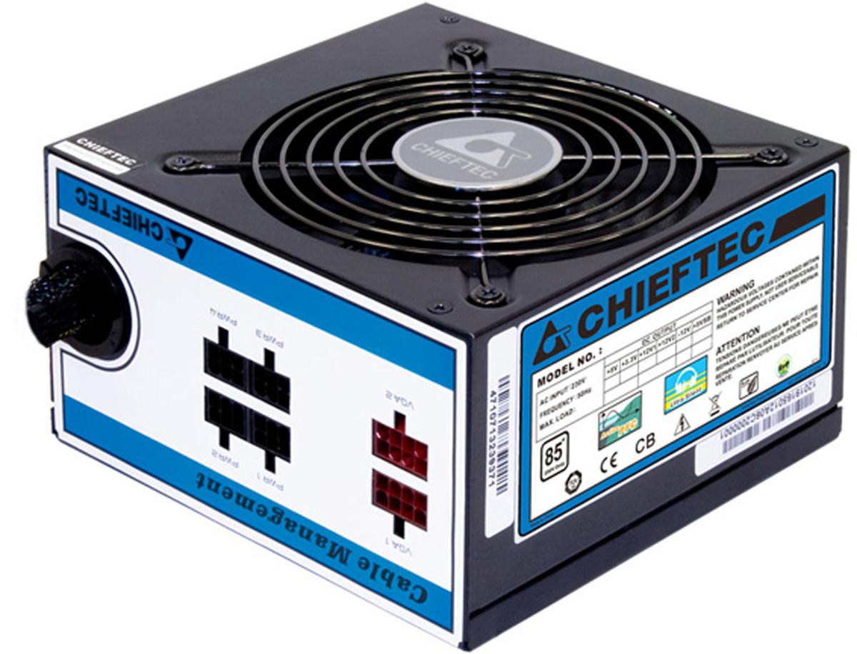 Chieftec CTG-550C блок питания для компьютера - Комплектующие для компьютера