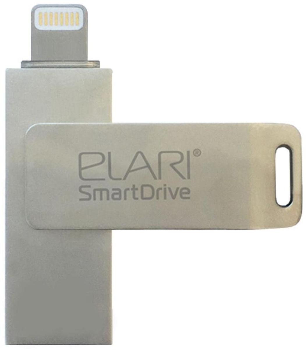 Elari SmartDrive 128GB, Gold флеш-накопительElariSmartDrive128GB