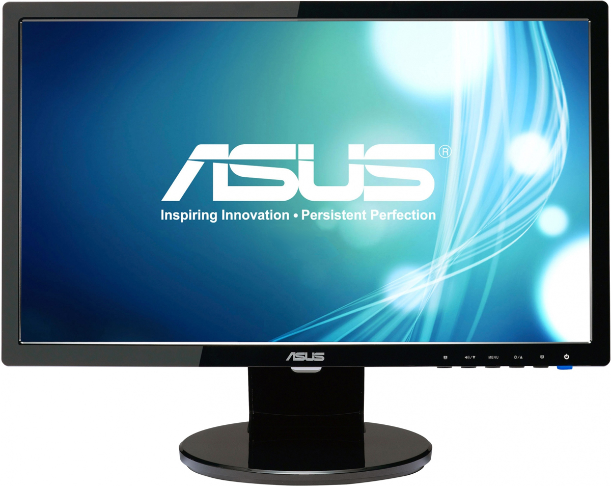 ASUS VE198S, Black монитор90LMB9100Q01001C-Монитор Asus 19 VE198S черный TN+film 5ms 16:10 M/M Mat 250cd