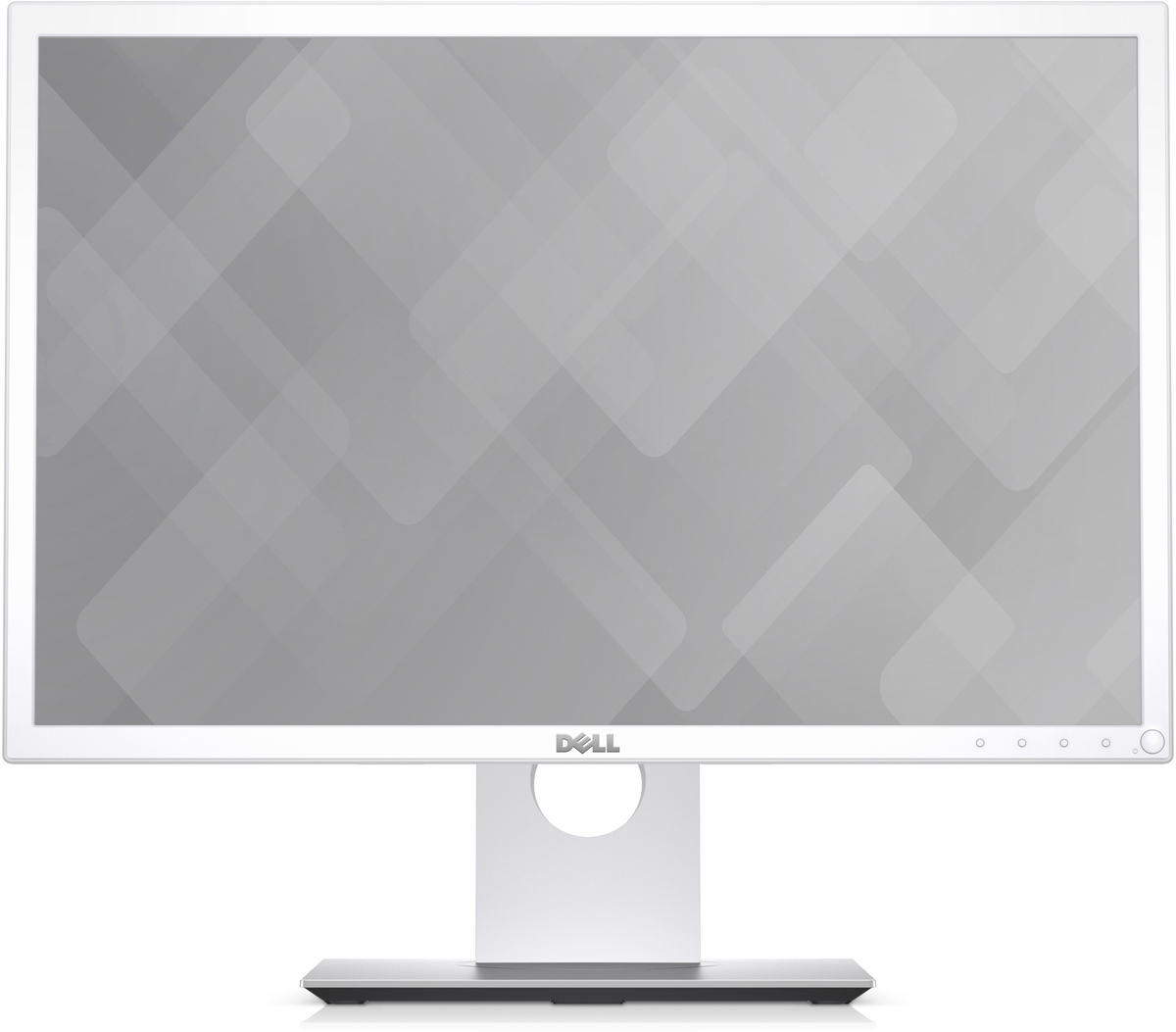Dell P2217wh, White монитор2217-4Монитор Dell 22 P2217wh белый TN+film LED 5ms 16:10 HDMI DisplayPort Mat HAS Pivot 250cd USB