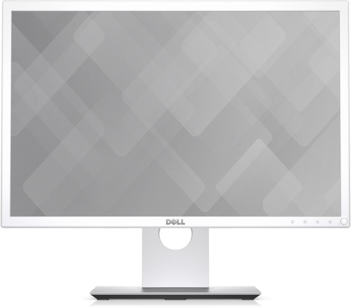 Dell P2217wh, White монитор монитор 22 nec multisync ea223wm silver white tn led 1680x1050 5ms vga dvi displayport