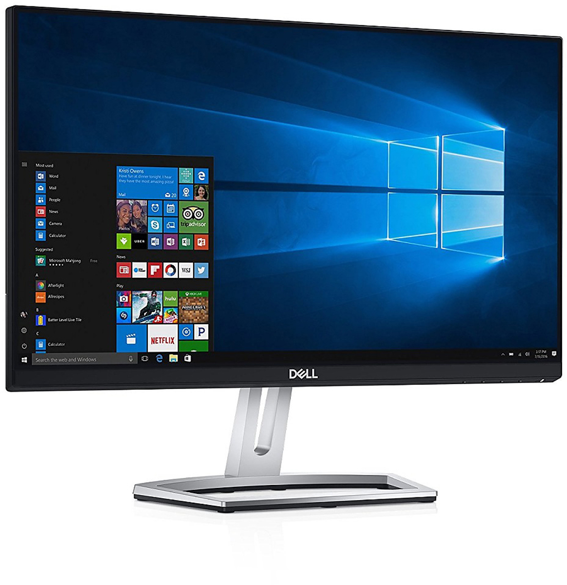 Dell S2218M, Black монитор2218-6752Монитор Dell 21.5 S2218M черный IPS 16:9 DVI PS 250cd