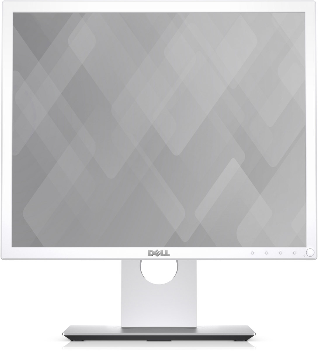 Dell P1917S, White монитор1917-4527Монитор Dell 19 P1917S белый IPS LED 5:4 HDMI DisplayPort Mat HAS Pivot 250cd USB