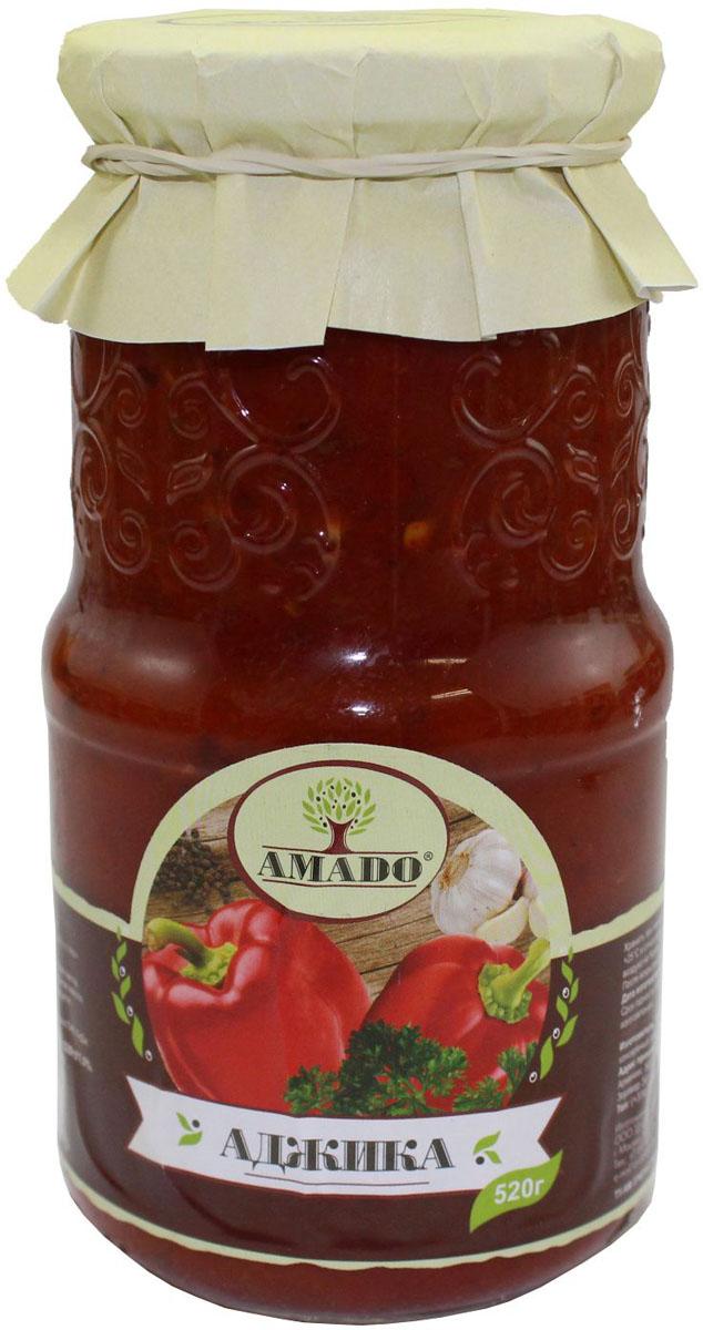 Amado аджика, 520 г39Экологически чистый продукт. Чистейшая горная вода позволяет почувствовать истинный вкус наших овощей. Отсутствуют усилители вкуса, консерванты и ГМО.