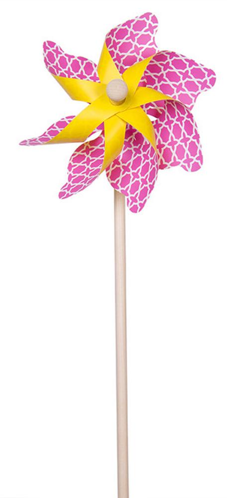 Fresh Trend Вертушка Ветрячок Звездочки цвет розовый 48 см