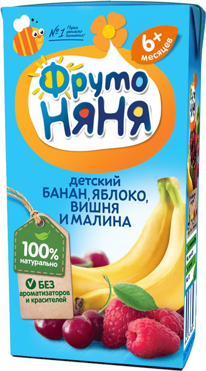 ФрутоНяня нектар из смеси фруктов с 6 месяцев, 0,2 л