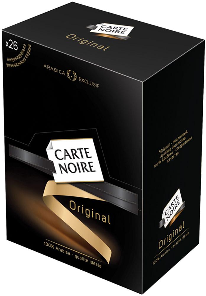 Carte Noire Original кофе растворимый в пакетиках, 26 шт кофе carte noire карт нуар молотый велюр арабика 250г пакет франция