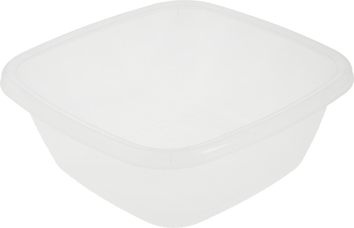 Таз квадратный Dunya Plastik, цвет: прозрачный, 9,5 л10128_прозрачныйКвадратный таз Dunya Plastik выполнен из прочного прозрачного пластика. Подойдет для различных бытовых нужд на кухне, в ванной, гараже и так далее. Такой таз пригодится в любом хозяйстве.