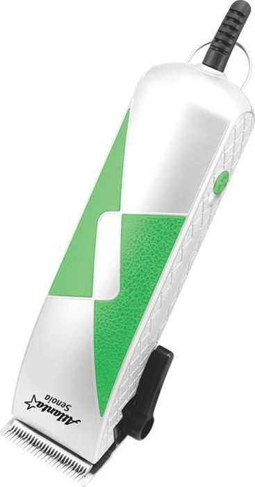 Atlanta ATH-6885, White машинка для стрижки77.858@25806Полный парикмахерский комплектУдобная нескользящая ручка со специальной накладкойВозможность регулировки ножейЧетыре насадки для создания причесок разной длиныПрецизионные ножи из стали высокой прочностиМощность 9 Вт230 В, 50-60 Гц18.5 x 6.2 x 5 см