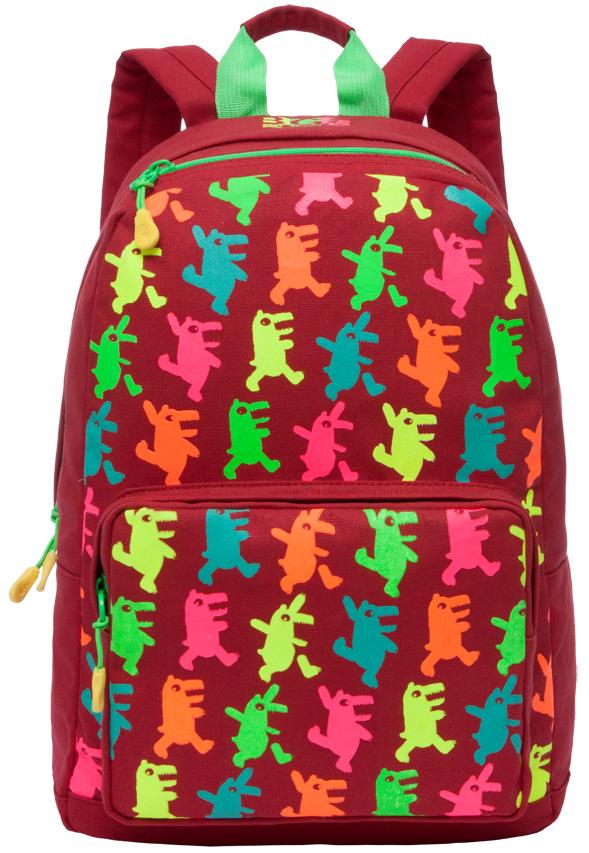 Рюкзак женский Grizzly, цвет: красный, 16 л. RD-743-1/3RD-743-1/3Женский рюкзак Grizzly изготовлен из полиэстера и имеет одно главное отделение, закрывающееся застежку-молнию, объемный карман на молнии на передней стенке, внутренний карман для портатитвных устройств. Рюкзак с укрепленной спинкой оснащен двумя широкими мягкими лямками регулируемой длины и удобной короткой ручкой.