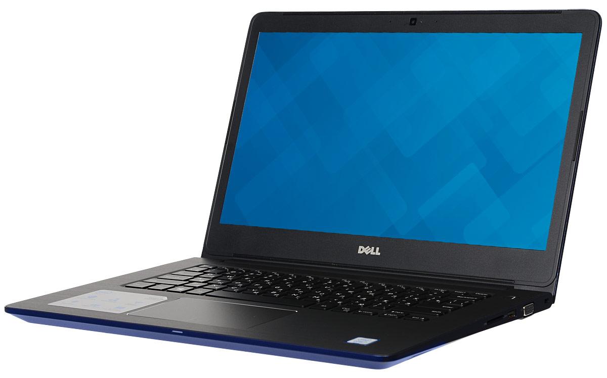 Dell Vostro 5468-9026, Blue5468-902614-дюймовый ноутбук Dell Vostro 5468 с процессором Intel Core i3 позволит вам в любое время сразу приступить к работе.Этот супертонкий ноутбук не только невероятно прочный, но и обладает стильным внешним видом. Красота Vostro 5468 - в деталях. Если вас завалило электронной почтой, высококачественная полноразмерная резиновая клавиатура и мультисенсорная панель с распознаванием жестов помогут вам легко и быстро ответить на любое письмо. Тонкий и легкий. Толщина устройства - всего 18,3 мм, а вес составляет всего лишь 1,59 кг. Компактный и изящный ноутбук Vostro 5468 можно легко положить в сумку и взять с собой куда угодно. Стереосистема формата 2.1 с поддержкой Waves MaxxAudio обеспечивает высокую четкость звука при воспроизведении музыки, просмотре видео и участии в конференциях. Vostro 5468 поддерживает аудиорешения Waves MaxxAudio, которые повышают качество звучания двух встроенных динамиков и сабвуфера.Легкость общения. Общайтесь с коллегами, родственниками и друзьями с помощью веб-камеры высокой четкости (720p) и встроенных микрофонов.Простота подключения. Подключайте устройства через разъем HDMI и три порта USB 3.0. Функция PowerShare позволяет заряжать внешние устройства через порт USB, даже когда ноутбук выключен.Быстрая передача данных. Встроенный порт Ethernet и устройство считывания карт памяти SD позволяют быстро и легко переносить рабочие файлы между различными устройствами.Точные характеристики зависят от модификации.Ноутбук сертифицирован EAC и имеет русифицированную клавиатуру и Руководство пользователя.