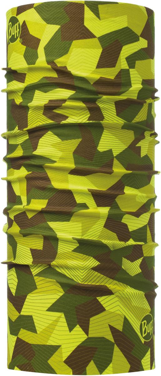 Бандана Buff Original, цвет: салатовый. 115211.845.10.00. Размер универсальный115211.845.10.00Бандана Buff Original - это оригинальный, мультифункциональный, бесшовный головной убор - удобный и комфортный для любого вида активного отдыха и спорта. Оригинальный, потому что Buff был и является первым в мире брендом мультифункциональных, бесшовных и универсальных головных уборов. Мультифункциональный, потому что их можно носить самыми разными способами: как шарф, как шапку, как балаклаву, косынку, бандану, маску, напульсник и многими другими - решает Ваша фантазия! Универсальный головной убор, который можно носить более чем двенадцатью способами, который можно использовать при занятии любым видом спорта, езде на велосипеде и мотоцикле, катаясь или бегая на лыжах, и даже как аксессуар в городской одежде. Бесшовный, благодаря эластичности, позволяющей использовать эти головные уборы как угодно и не беспокоиться о том, что кожа может быть натерта или раздражена швами.