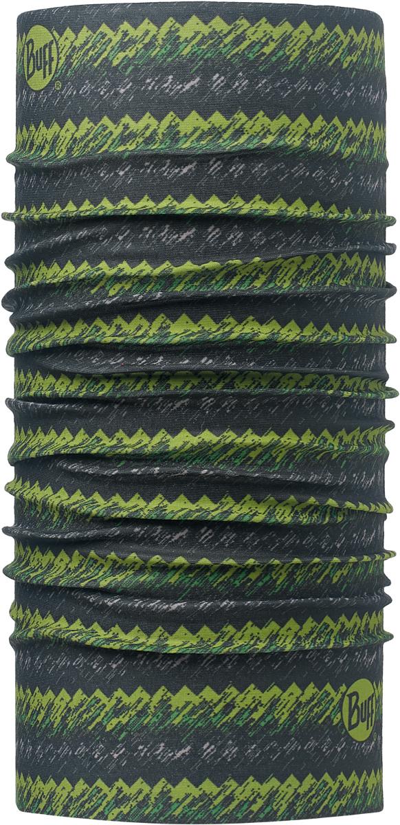 Бандана Buff Original, цвет: зеленый. 113090.845.10.00. Размер универсальный113090.845.10.00Бандана Buff Original - это оригинальный, мультифункциональный, бесшовный головной убор - удобный и комфортный для любого вида активного отдыха и спорта. Оригинальный, потому что Buff был и является первым в мире брендом мультифункциональных, бесшовных и универсальных головных уборов. Мультифункциональный, потому что их можно носить самыми разными способами: как шарф, как шапку, как балаклаву, косынку, бандану, маску, напульсник и многими другими - решает Ваша фантазия! Универсальный головной убор, который можно носить более чем двенадцатью способами, который можно использовать при занятии любым видом спорта, езде на велосипеде и мотоцикле, катаясь или бегая на лыжах, и даже как аксессуар в городской одежде. Бесшовный, благодаря эластичности, позволяющей использовать эти головные уборы как угодно и не беспокоиться о том, что кожа может быть натерта или раздражена швами.