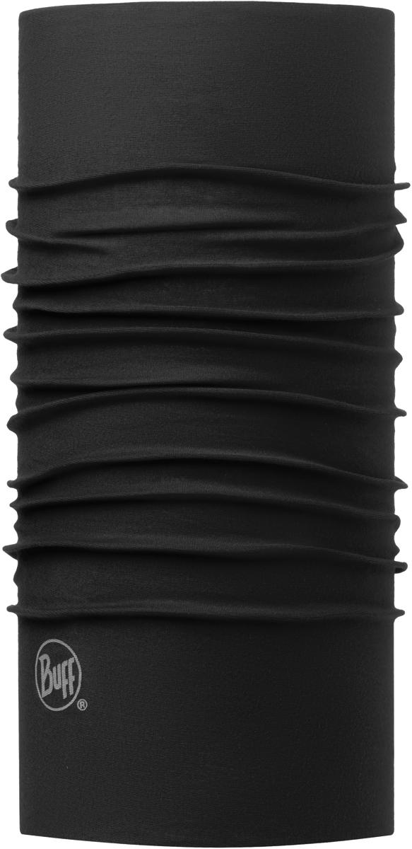 Бандана Buff Original, цвет: черный. 100200.00. Размер универсальный100200.00Buff - это оригинальные, мультифункциональные, бесшовные головные уборы - удобные и комфортные для любого вида активного отдыха и спорта. Оригинальные, потому что Buff был и является первым в мире брендом мультифункциональных, бесшовных и универсальных головных уборов. Мультифункциональные, потому что их можно носить самыми разными способами: как шарф, как шапку, как балаклаву, косынку, бандану, маску, напульсник и многими другими - решает Ваша фантазия! Универсальный головной убор, который можно носить более чем двенадцатью способами, который можно использовать при занятии любым видом спорта, езде на велосипеде и мотоцикле, катаясь или бегая на лыжах, и даже как аксессуар в городской одежде. Бесшовные, благодаря эластичности, позволяющей использовать эти головные уборы как угодно и не беспокоиться о том, что кожа может быть натерта или раздражена швами.