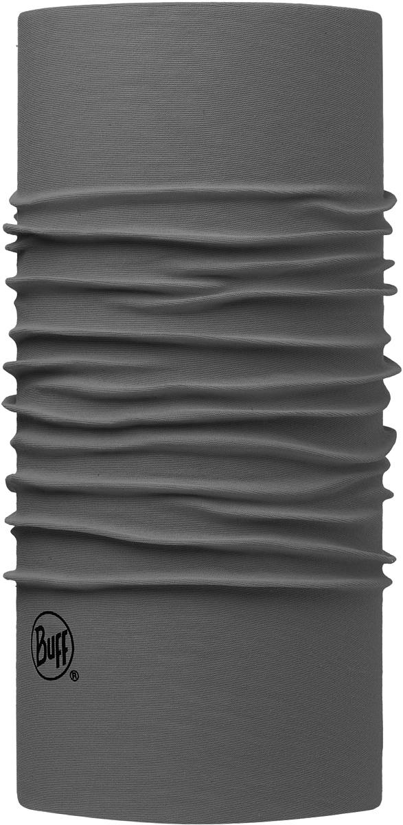 Бандана Buff Original, цвет: серый. 113000.929.10.00. Размер универсальный113000.929.10.00Бандана Buff Original - это оригинальный, мультифункциональный, бесшовный головной убор - удобный и комфортный для любого вида активного отдыха и спорта. Оригинальный, потому что Buff был и является первым в мире брендом мультифункциональных, бесшовных и универсальных головных уборов. Мультифункциональный, потому что их можно носить самыми разными способами: как шарф, как шапку, как балаклаву, косынку, бандану, маску, напульсник и многими другими - решает Ваша фантазия! Универсальный головной убор, который можно носить более чем двенадцатью способами, который можно использовать при занятии любым видом спорта, езде на велосипеде и мотоцикле, катаясь или бегая на лыжах, и даже как аксессуар в городской одежде. Бесшовный, благодаря эластичности, позволяющей использовать эти головные уборы как угодно и не беспокоиться о том, что кожа может быть натерта или раздражена швами.