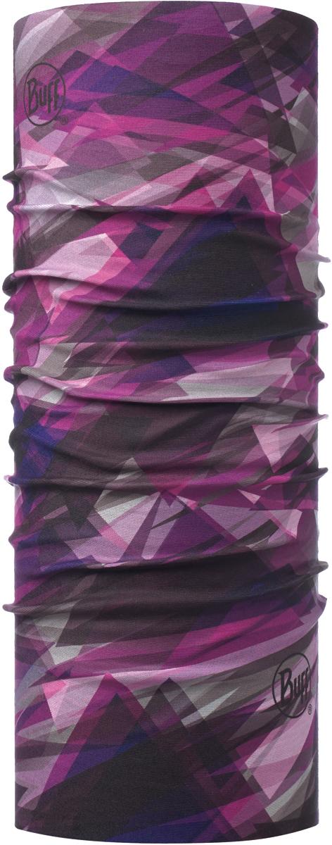 Бандана Buff Original, цвет: фиолетовый. 115222.606.10.00. Размер универсальный115222.606.10.00Бандана Buff Original - это оригинальный, мультифункциональный, бесшовный головной убор - удобный и комфортный для любого вида активного отдыха и спорта. Оригинальный, потому что Buff был и является первым в мире брендом мультифункциональных, бесшовных и универсальных головных уборов. Мультифункциональный, потому что их можно носить самыми разными способами: как шарф, как шапку, как балаклаву, косынку, бандану, маску, напульсник и многими другими - решает Ваша фантазия! Универсальный головной убор, который можно носить более чем двенадцатью способами, который можно использовать при занятии любым видом спорта, езде на велосипеде и мотоцикле, катаясь или бегая на лыжах, и даже как аксессуар в городской одежде. Бесшовный, благодаря эластичности, позволяющей использовать эти головные уборы как угодно и не беспокоиться о том, что кожа может быть натерта или раздражена швами.