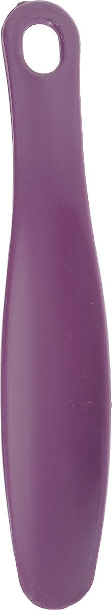 Ложка для обуви Эффектон, цвет: фиолетовый, 22,5 см70_фиолетовыйЛожка для обуви Эффектон, изготовленная из прочного высококачественного пластика, обеспечивает комфорт при надевании обуви, предохраняя ее от деформации.