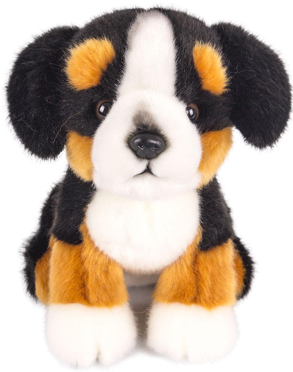 Gulliver Мягкая игрушка Щенок бернской овчарки 18 см - Мягкие игрушки