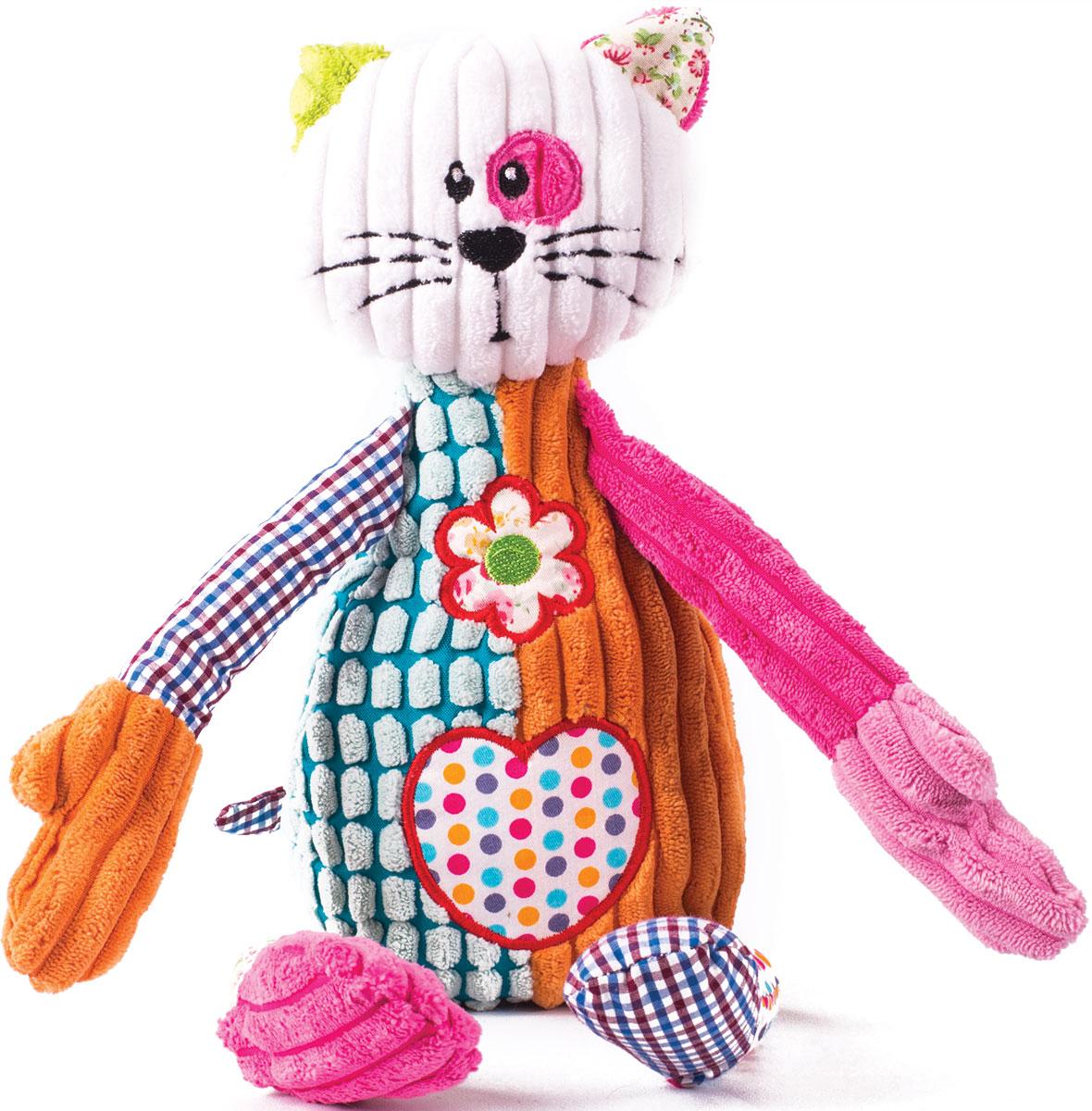 Gulliver Мягкая игрушка Кот Пятнышко 25 см - Мягкие игрушки