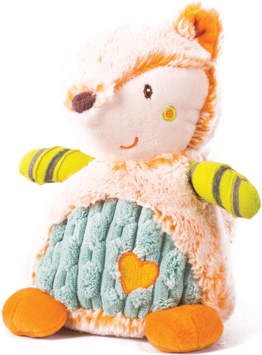 Gulliver Мягкая игрушка Лисичка цветная 17 см мягкие игрушки gulliver игрушка перевертыш лисичка корова 35 см