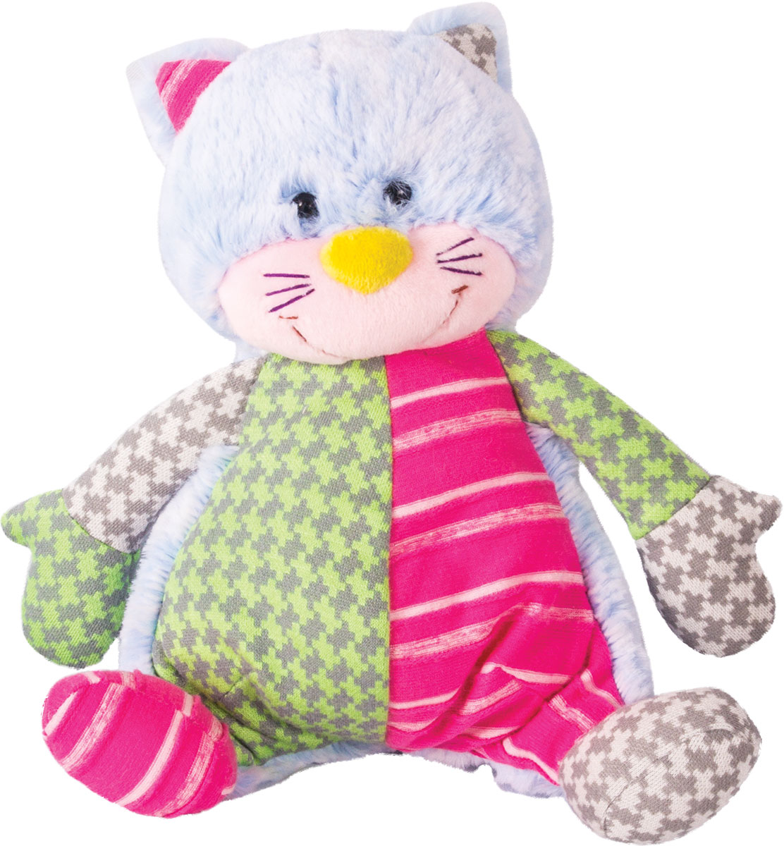 Gulliver Мягкая игрушка Котик цветной 21 см gulliver gulliver мягкая игрушка собака пупс 29 см
