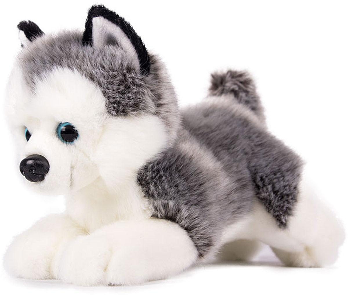 Gulliver Мягкая игрушка Щенок Хаски 20 см gulliver игр мягкая полярный мишка лежачий 30см