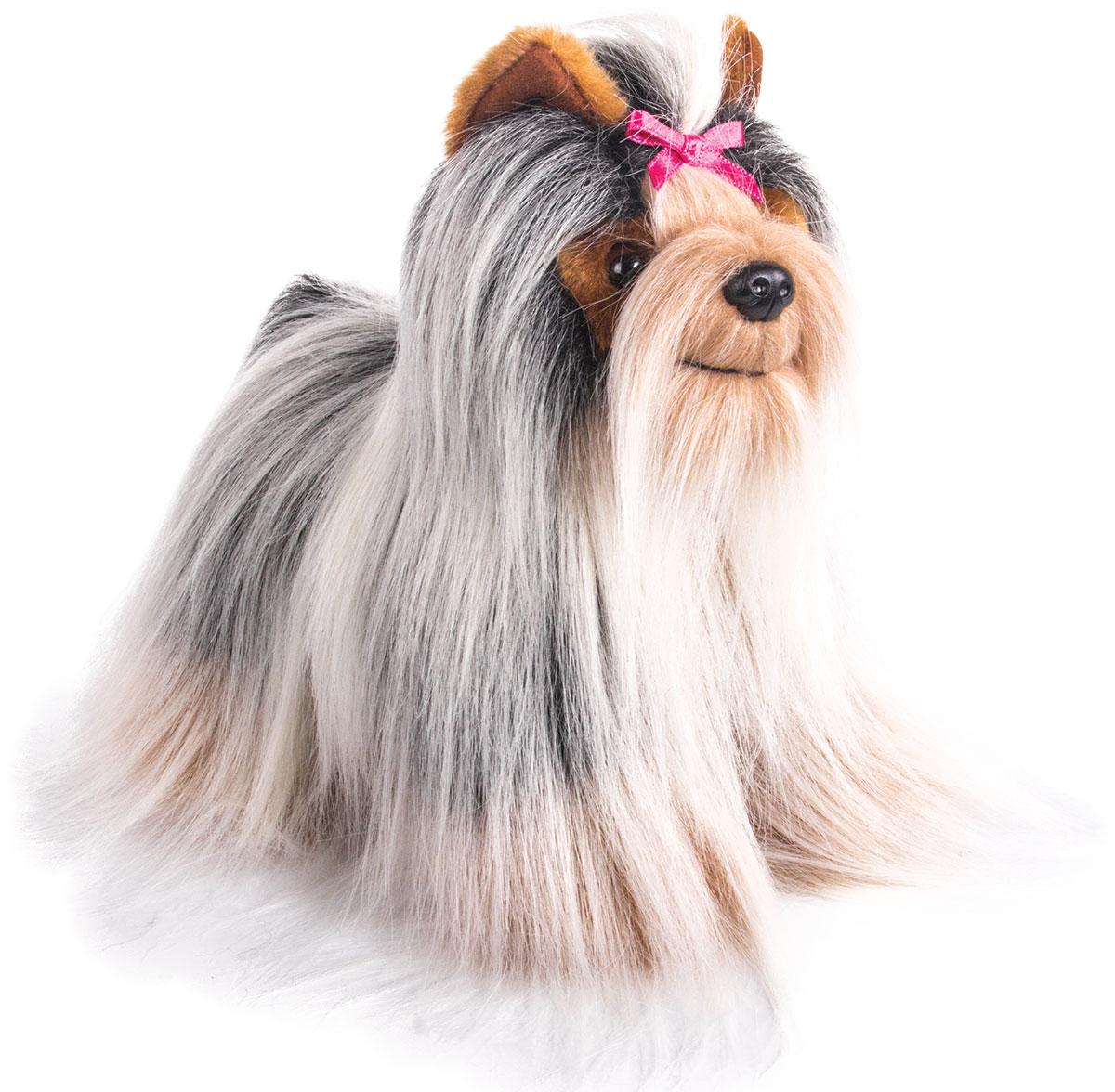 Gulliver Мягкая игрушка Йоркширский терьер стоит 20 см gulliver игр мягкая полярный мишка лежачий 30см