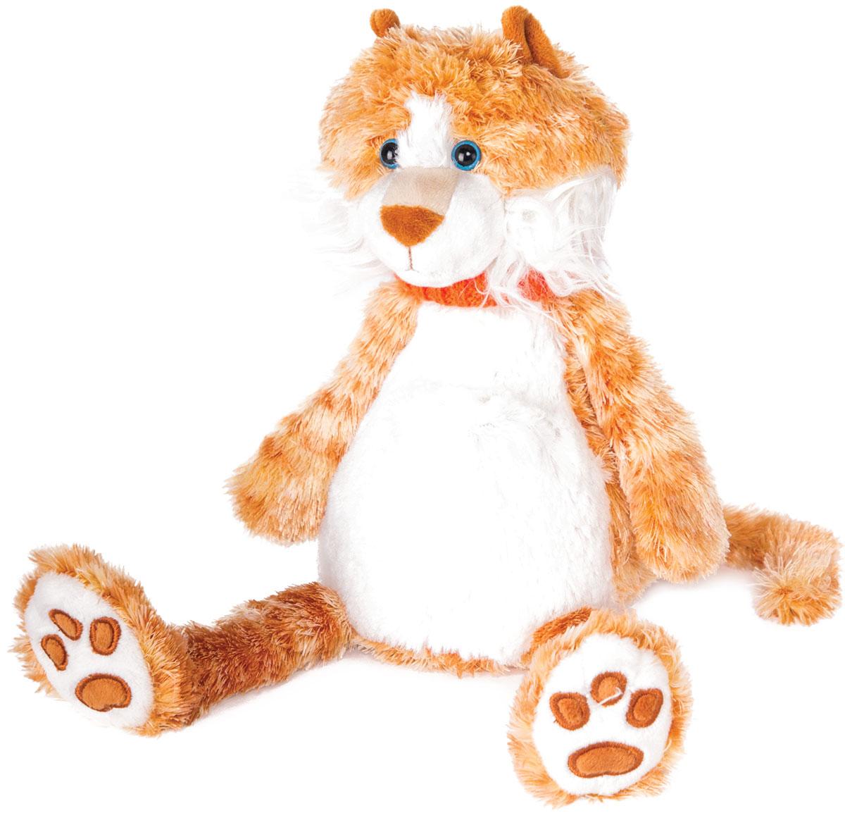Gulliver Мягкая игрушка Котик Барсик 20 см gulliver игр мягкая мишка с вельветовыми вставками в шарфике 24см