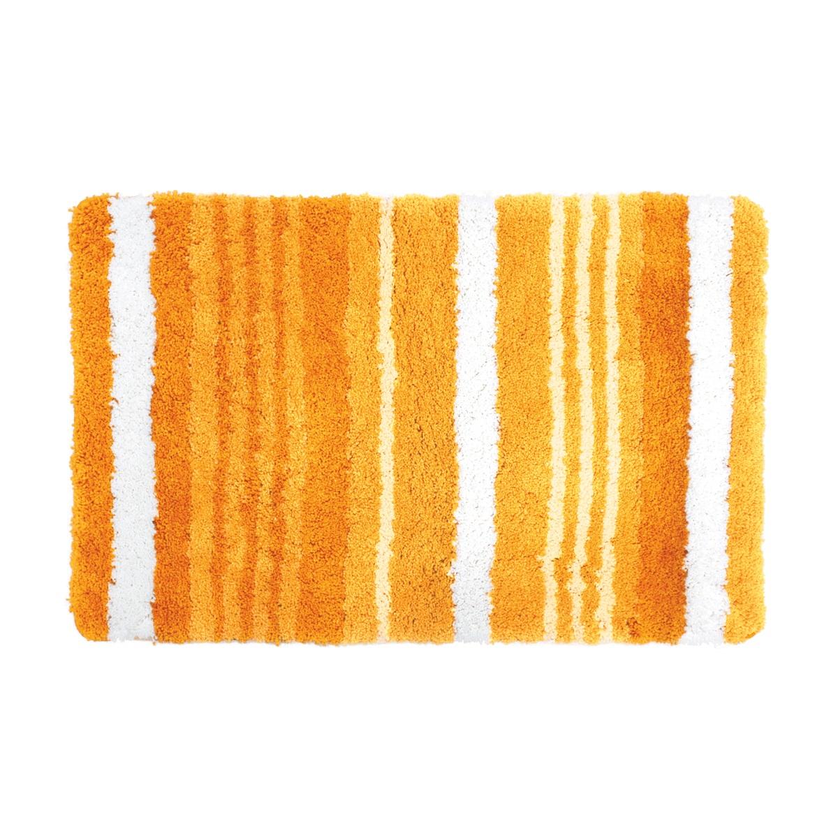 Коврик для ванной Iddis Orange Horizon, цвет: оранжевый, 60 х 90 см коврик для ванной iddis curved lines 50x80 см 402a580i12