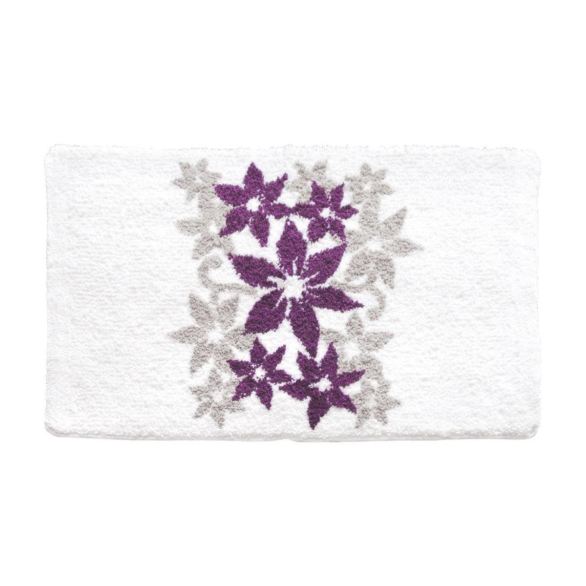 Коврик для ванной Iddis Hawaii times, цвет: белый, 60 х 90 см коврик для ванной iddis curved lines 50x80 см 402a580i12