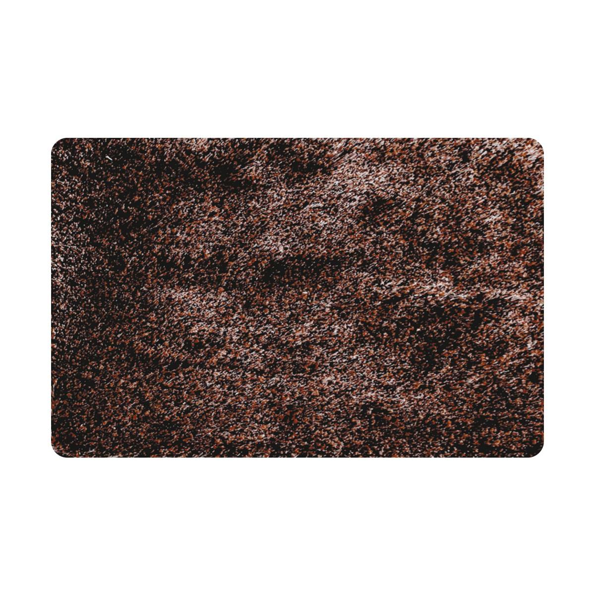 Коврик для ванной Iddis Brown grass, цвет: коричневый, 70 х 120 см коврик для ванной iddis curved lines 50x80 см 402a580i12