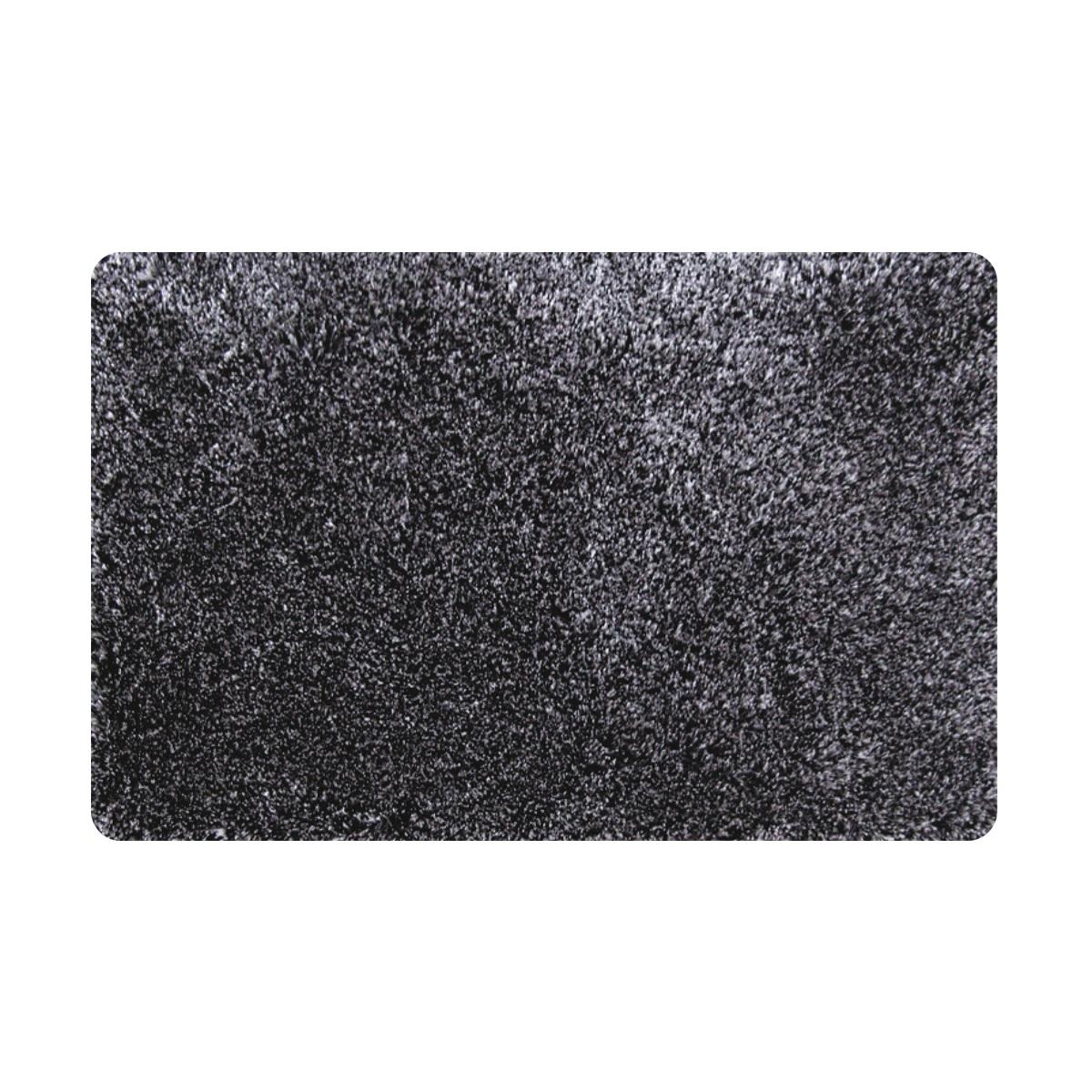 Коврик для ванной Iddis Grey grass, цвет: серый, 70 х 120 см коврик для ванной iddis curved lines 50x80 см 402a580i12