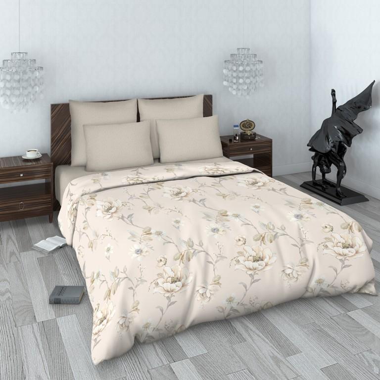 Комплект белья Василиса, 2-спальный, наволочки 70x70. 160186160186Комплекты постельного белья Василиса коллекции Люкс (из сатина, 100% хлопок) - это российский продукт высочайшего качества ткани, с полноценной евро-простыней и дизайнерскими расцветками. Бесшовное. Ткань очень приятна на ощупь, блестящая и плотная. Сатиновое постельное белье долговечно и выдерживает большое число стирок. Не пилингуется. Способ застегивания наволочки - клапан, пододеяльника - отверстие без застежки по краю изделия с подвернутым краем.