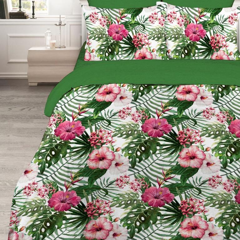 Комплект белья Василиса, 2-спальный, наволочки 70 x 70 см, 160794160794Комплект постельного белья Василиса состоит из пододеяльника, простыни и двух наволочек. Белье изготовлено из бязи (100% хлопка) - гипоаллергенного, экологичного, высококачественного, крупнозакрученного волокна. Использование особо тонкой пряжи делает ткань мягче на ощупь, обеспечивает легкое глажение и позволяет передать всю насыщенность цветовой гаммы. Благодаря более плотному переплетению нитей и использованию высококачественных импортных красителей постельное белье выдерживает до 70 стирок. На ткани не образуются катышки. Способ застегивания наволочки - клапан, пододеяльника - отверстие без застежки по краю изделия с подвернутым краем.Приобретая комплект постельного белья Василиса, вы можете быть уверены в том, что покупка доставит вам удовольствие и подарит максимальный комфорт.