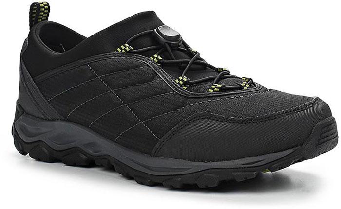 Ботинки мужские Merrell Ice Cap 4 Strech Moc, цвет: черный. 9629. Размер 8H (41)9629Мужские ботинки Merrell отлично подойдут для туризма. Модель, выполненная из высококачественных материалов, дополнена контрастной прострочкой и сбоку логотипом бренда. Модель быстро и легко шнуруется при помощи эластичного шнурка и пластикового фиксатора. Стелька из текстиля и подкладка из флиса обеспечивают надежную термоизоляцию. Подошва с рифлением обеспечивает отличное сцепление на любой поверхности. В таких ботинках вашим ногам будет уютно и комфортно.